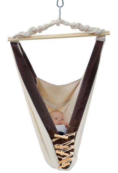Babyhängematte / Hängemattenwiege Amazonas Kangoo 70x40cm Bild 1