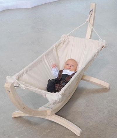 Babyhängematten Gestell Leo Bild 2