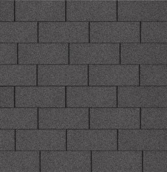 Bitumen - Dachschindeln Multi-Play schwarz 3m²
