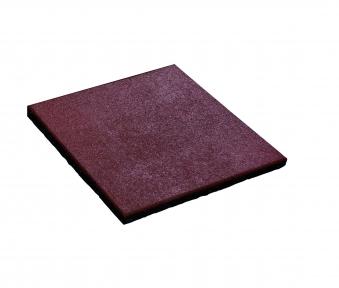Karibu Akubi Fallschutzmatte 50x50cm rot 1 Stück