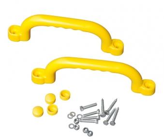 Handgriff / Kunststoffgriff Multi-Play 2er-Set gelb