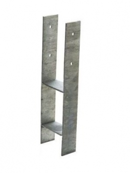 H-Anker / Betonanker für Pfosten 9x9cm