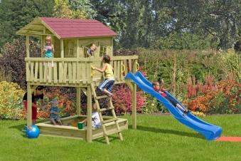 Baumhaus / Stelzenhaus Spielhaus CRAZY Maxi 226x240x300cm Bild 2