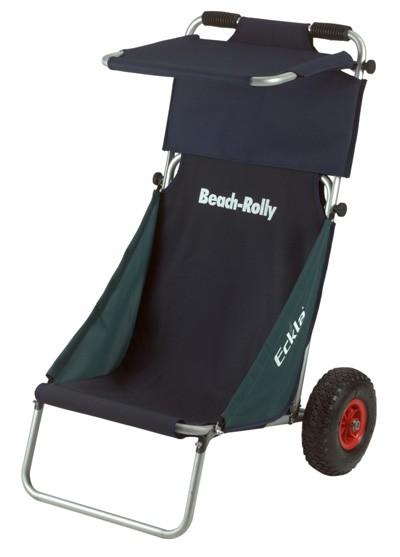 Eckla Beach Rolly klappbar mit Sonnendach blau / grün Bild 1