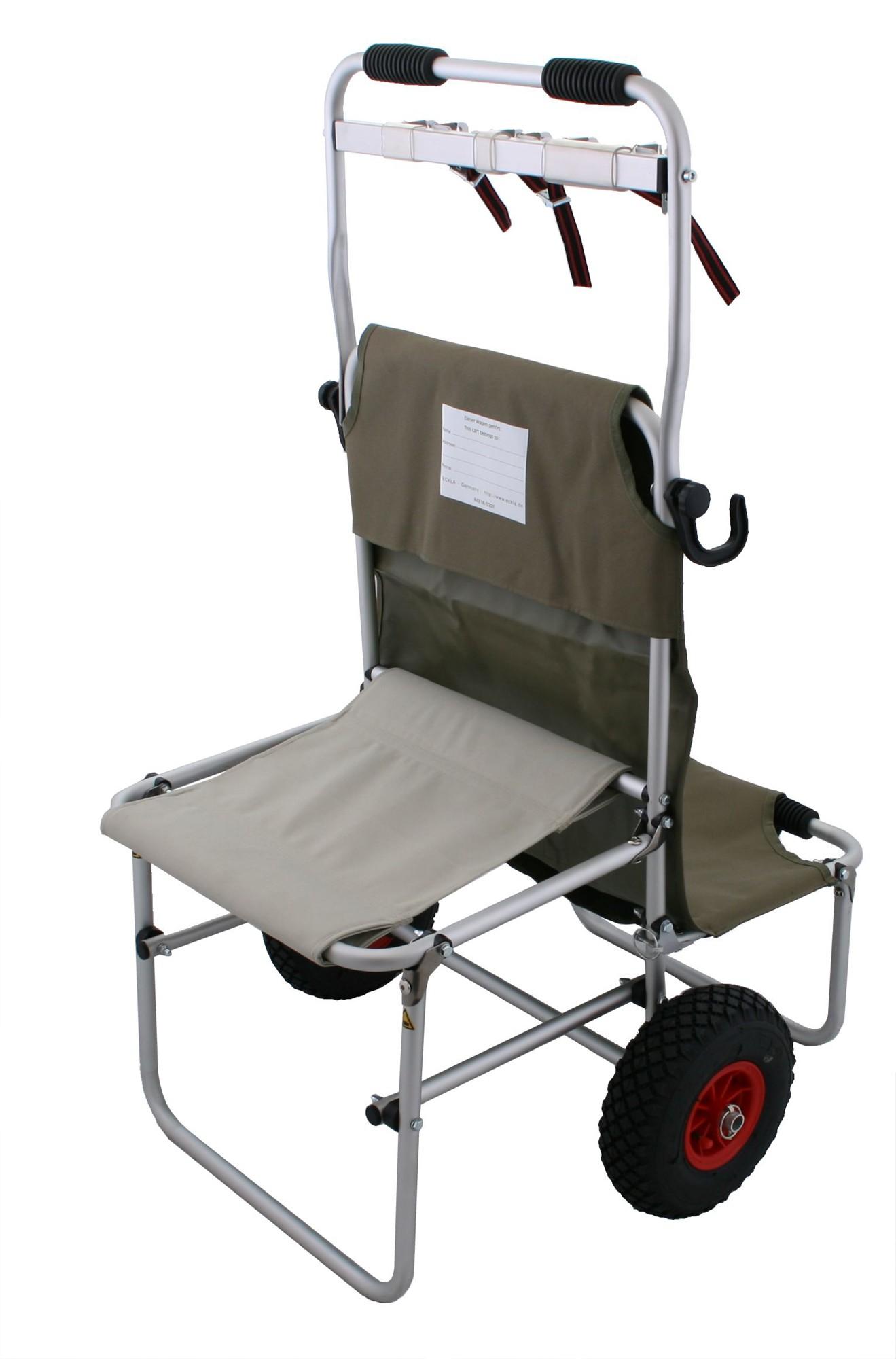 Eckla Multi Rolly Transportwagen mit Multileiste klappbar pannensicher Bild 3