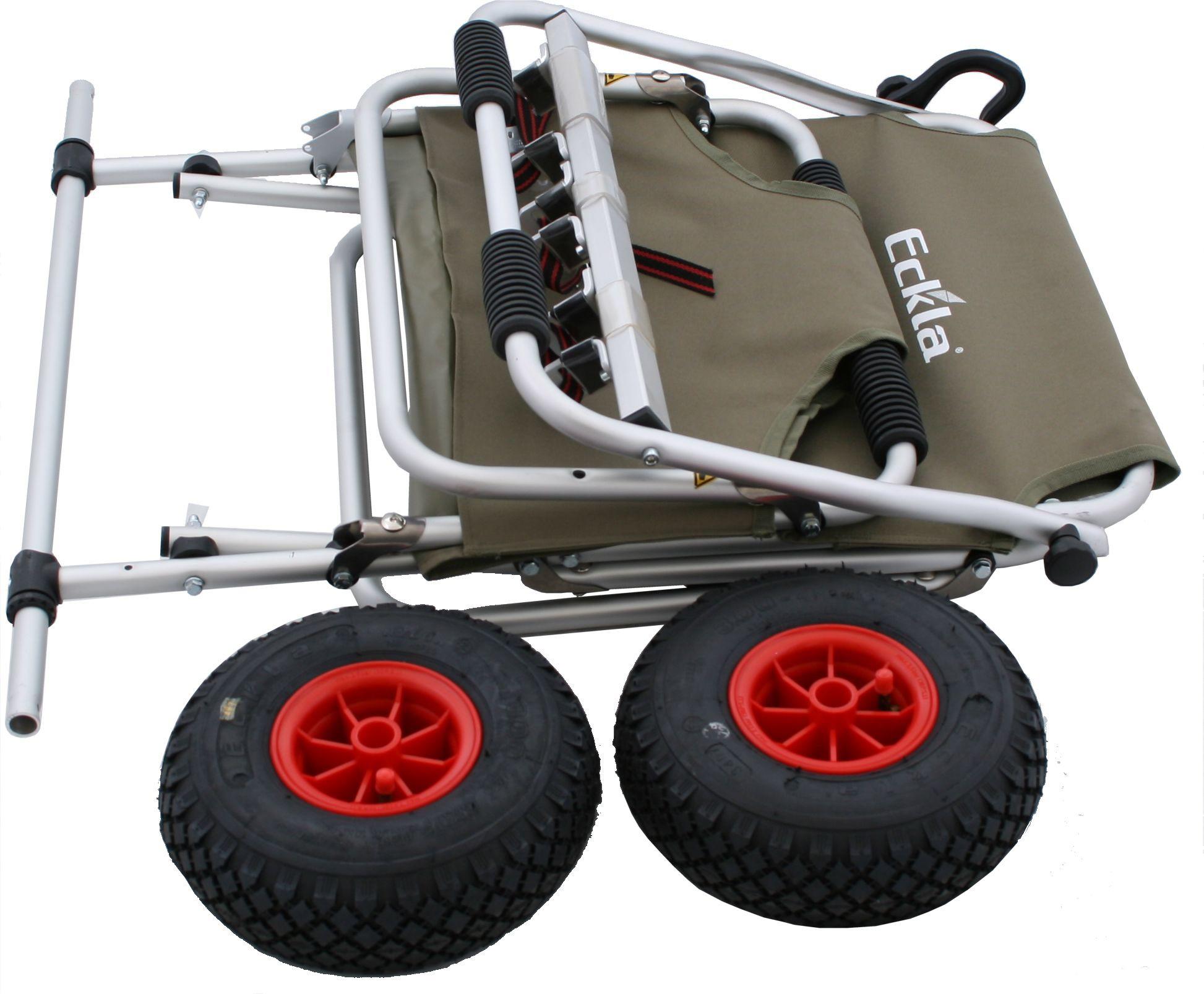 Eckla Multi Rolly Transportwagen mit Multileiste klappbar pannensicher Bild 4