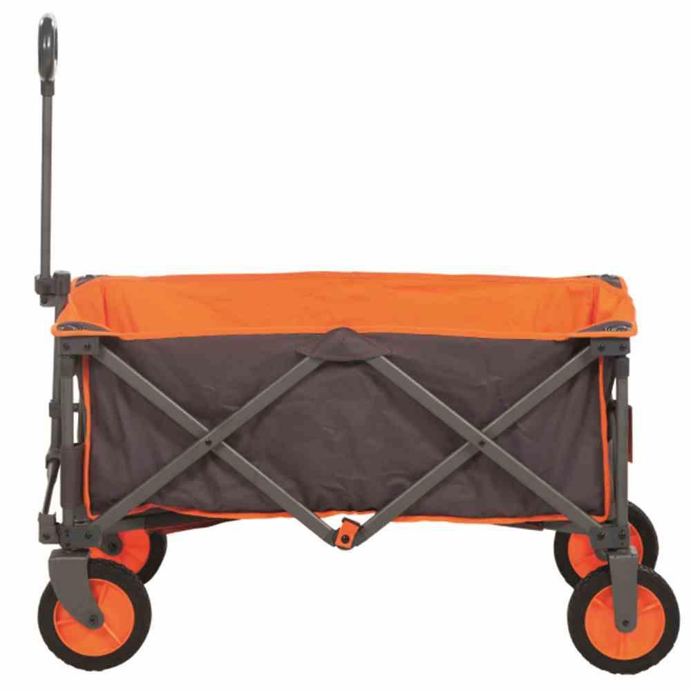 Bollerwagen / Faltwagen Alf Portal Outdoor Stahl Textil grau-orange Bild 1