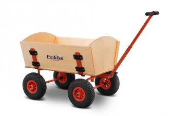 Eckla Bollerwagen zerlegbar Ecklatruck Easy 70 cm Pannenreifen Bild 1