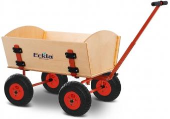 Eckla Bollerwagen zerlegbar Ecklatruck Easy Trailer 70cm Bild 1