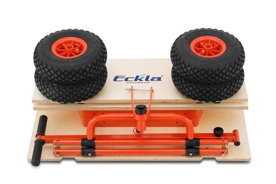 Eckla Bollerwagen zerlegbar Ecklatruck Fun Long 100cm Pannenreifen Bild 3