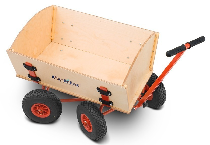 Eckla Bollerwagen zerlegbar Ecklatruck Fun Long 100cm Pannenreifen Bild 4