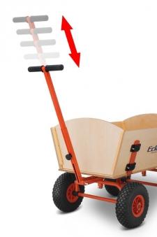 Eckla Bollerwagen zerlegbar Ecklatruck Fun Long 100cm Pannenreifen Bild 2