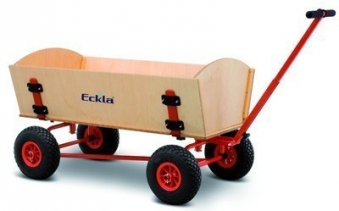 Eckla Bollerwagen zerlegbar Ecklatruck Fun Trailer Long 100cm Bild 1