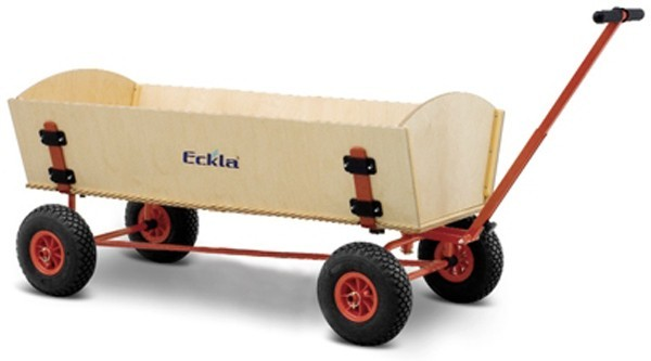 Eckla Bollerwagen zerlegbar Ecklatruck Fun XXL 120 cm Pannenreifen Bild 1