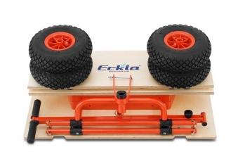 Eckla Bollerwagen zerlegbar Ecklatruck Fun XXL 120 cm Pannenreifen Bild 4