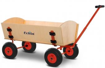 Eckla Bollerwagen zerlegbar Ecklatruck Long Trailer 100cm Bild 1