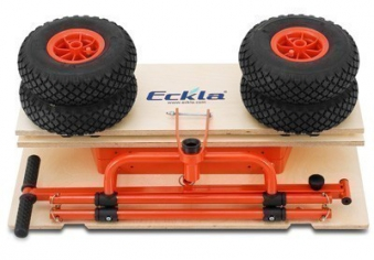 Eckla Bollerwagen zerlegbar Ecklatruck Long Trailer 100cm Bild 3