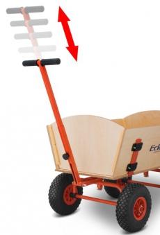 Eckla Bollerwagen zerlegbar Ecklatruck Long Trailer 100cm Bild 4