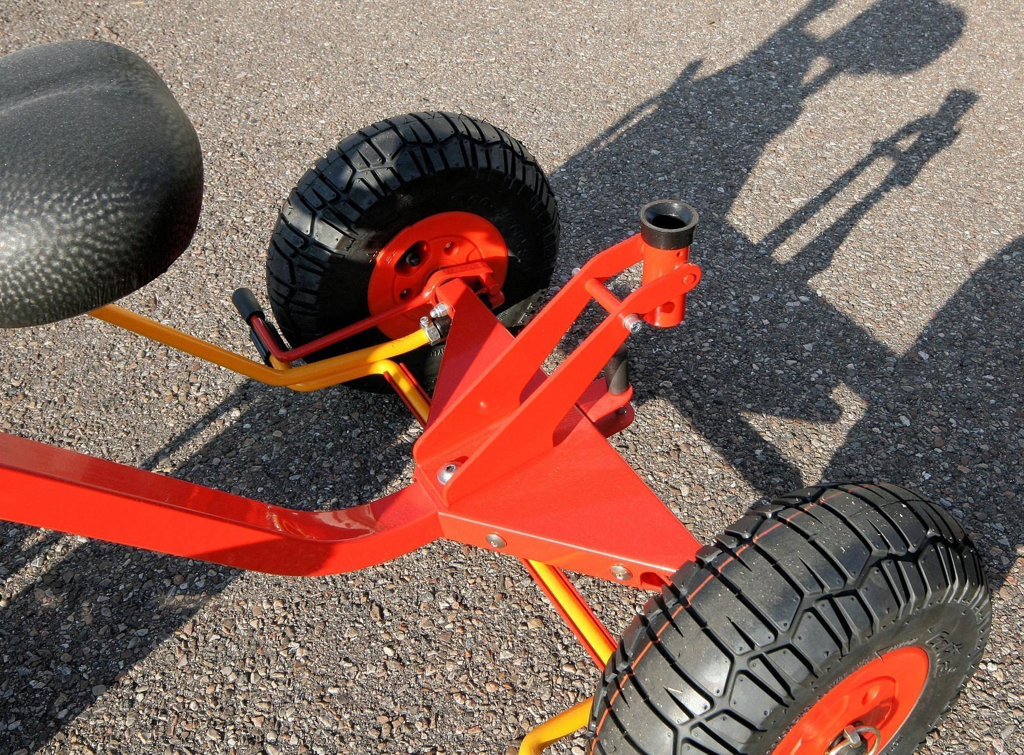 Eckla Sattelaufliegevorrichtung Dreirad für Eckla Bollerwagen Bild 2