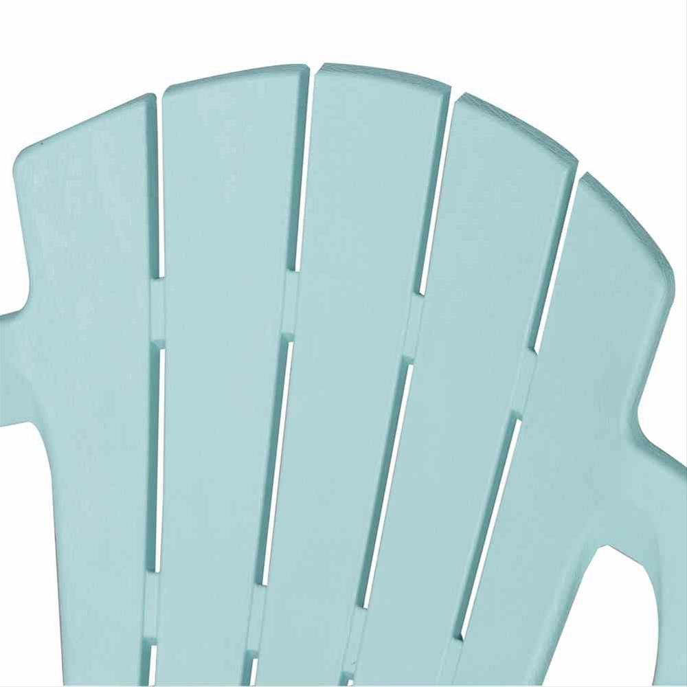 Kinder Gartenstuhl / Kinder Deckchair stapelbar hellblau-türkis Bild 3