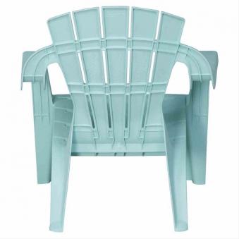 Kinder Gartenstuhl / Kinder Deckchair stapelbar hellblau-türkis Bild 2