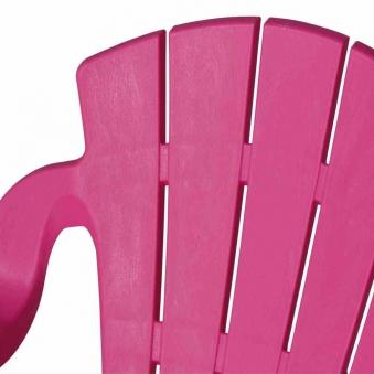 Kinder Gartenstuhl / Kinder Deckchair stapelbar pink Bild 2
