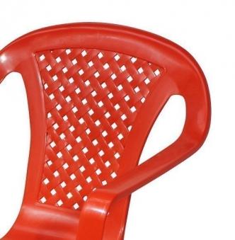 Kinder Gartenstuhl / Kinderstuhl Kunststoff grün Bild 2