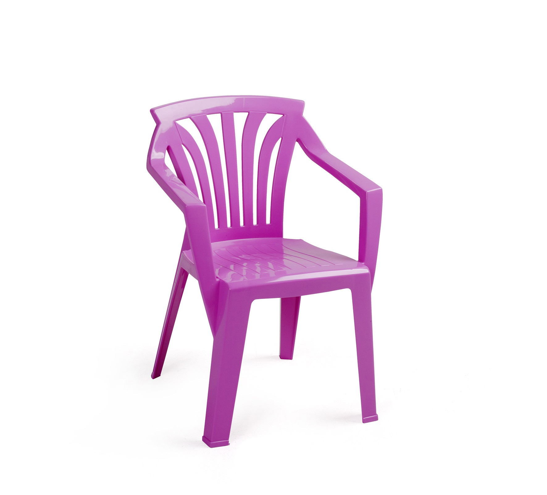 kinderstuhl gartenstuhl ariel kunststoff stapelbar nardi purple bei. Black Bedroom Furniture Sets. Home Design Ideas
