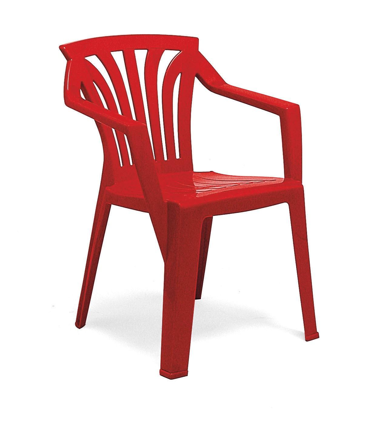 kinderstuhl gartenstuhl ariel kunststoff stapelbar nardi rot bei. Black Bedroom Furniture Sets. Home Design Ideas