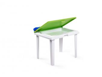 Kindertisch Aladino lime / weiß 60x45cm Bild 1