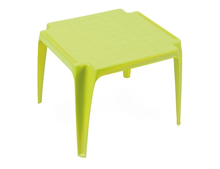 Kindertisch / Gartentisch stapelbar Kunststoff Tavolo Progarden grün Bild 1