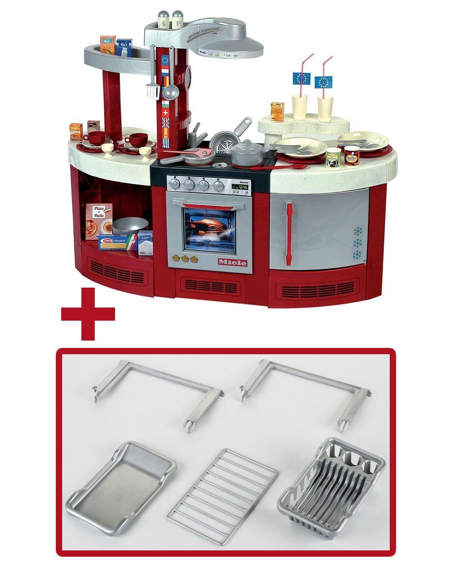 Miele Spielzeug / Kinderküche Miele Gourmetküche International  Set Bild 1