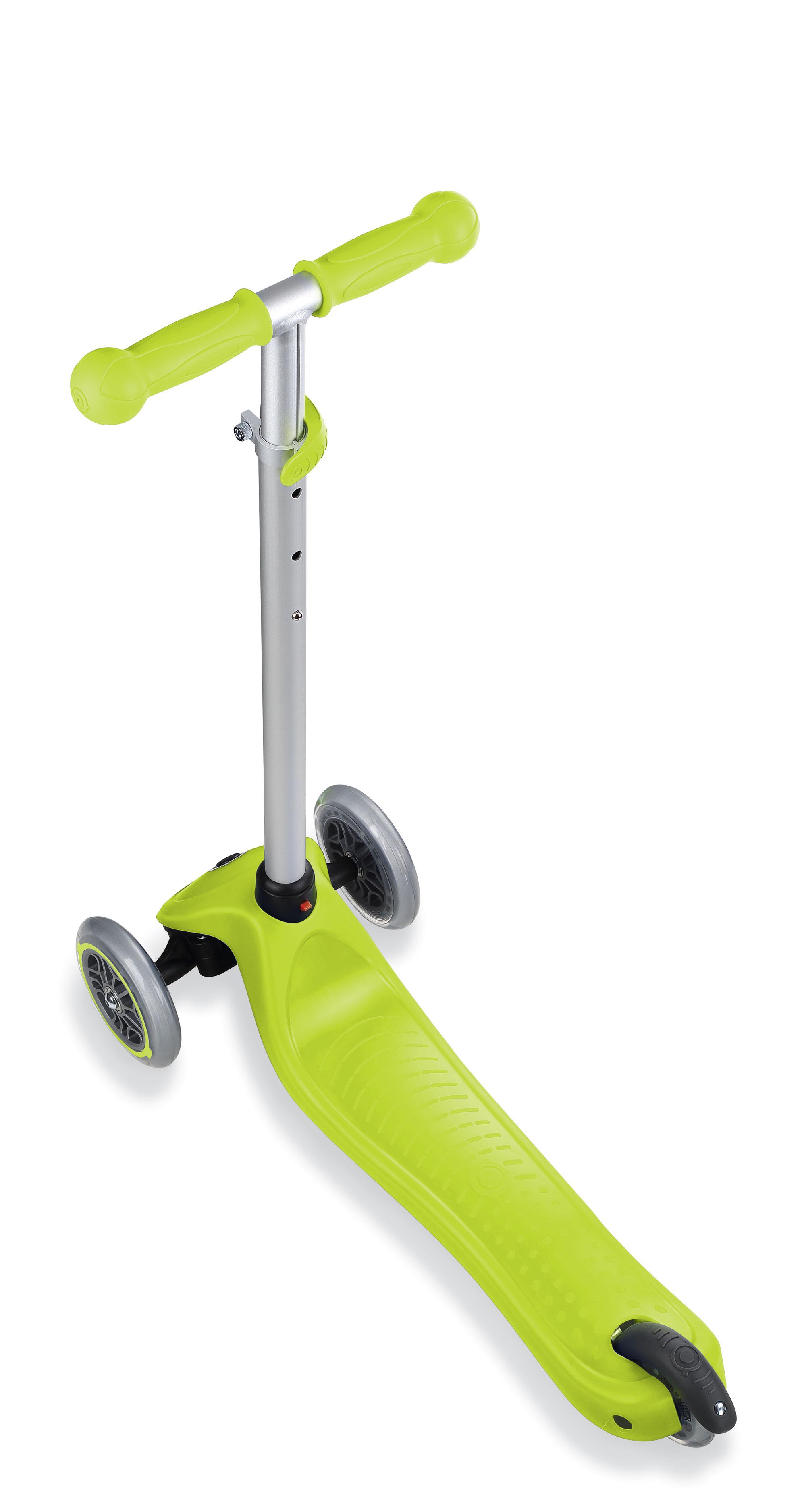 Scooter / Kinderroller / Dreirad / Laufrad Globber Evo 4in1 grün Set Bild 4