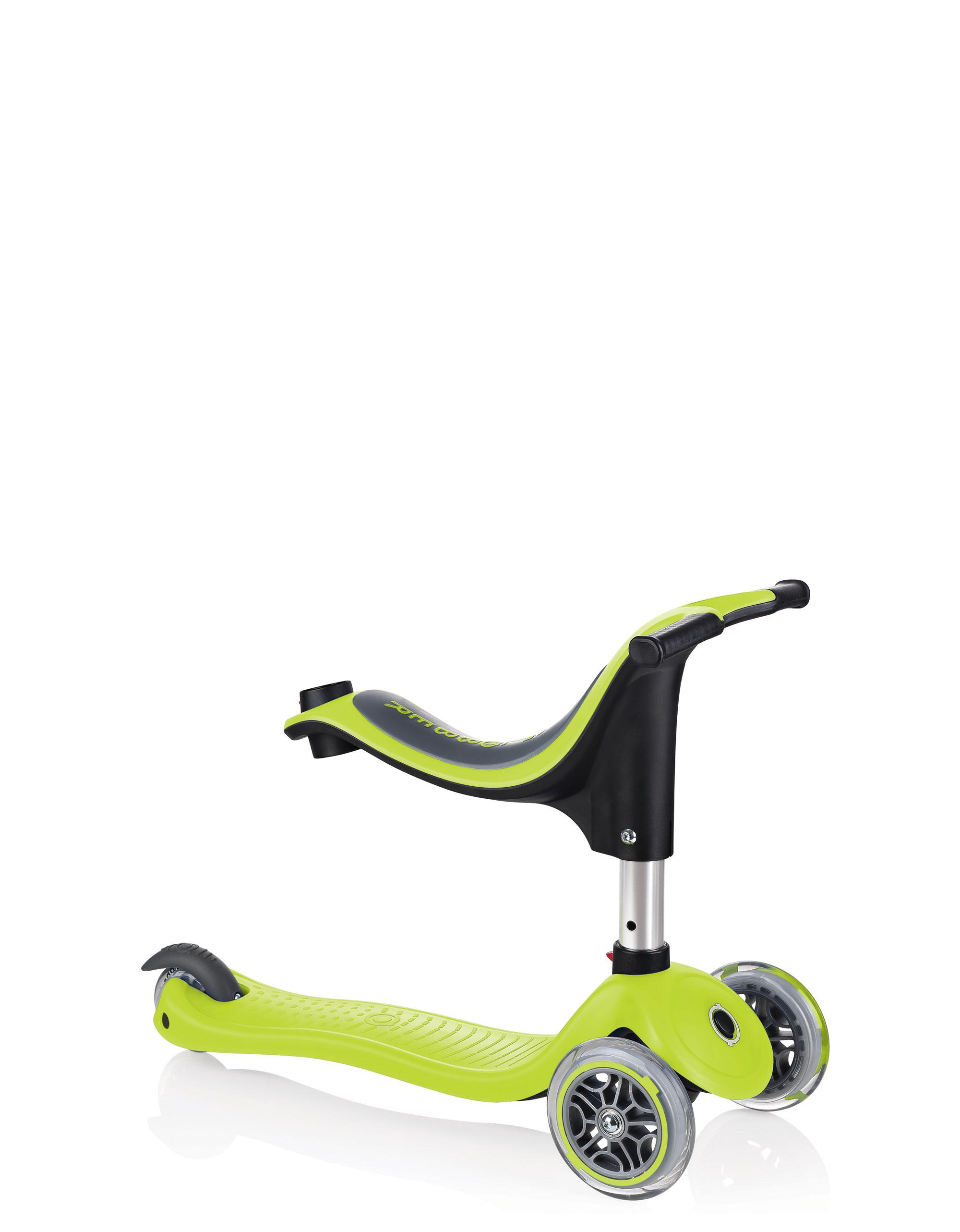 Scooter / Kinderroller / Dreirad / Laufrad Globber Evo 4in1 grün Set Bild 9