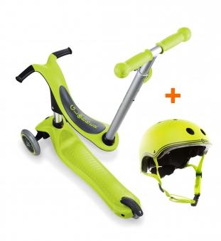 Scooter / Kinderroller / Dreirad / Laufrad Globber Evo 4in1 grün Set Bild 1