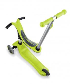 Scooter / Kinderroller / Dreirad / Laufrad Globber Evo 4in1 grün Set Bild 2
