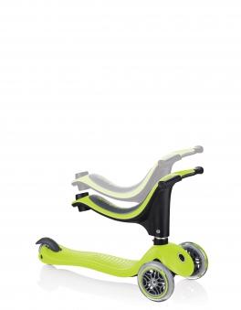 Scooter / Kinderroller / Dreirad / Laufrad Globber Evo 4in1 grün Set Bild 7