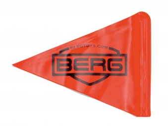Flagge / Fahne für Pedal-Gokart BERG toys