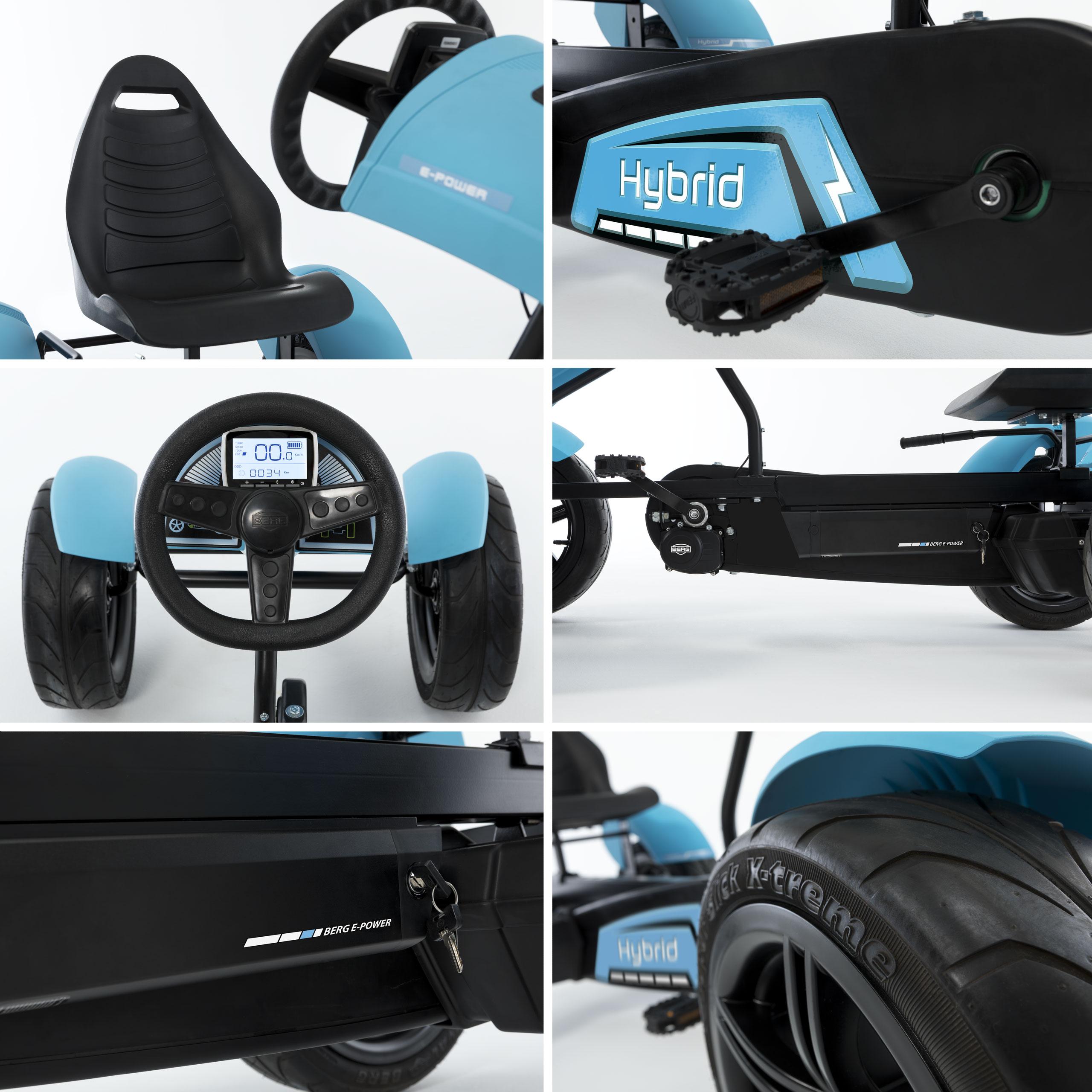 gokart pedal gokart jeep revolution e bf berg toys bei. Black Bedroom Furniture Sets. Home Design Ideas