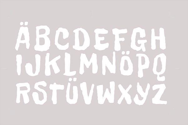 Aufkleber ABC - Stickersatz für Fronstspoiler für Dino Cars 3Stück Bild 1