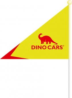 Sicherheitsfahne für Gokart DINO CARS