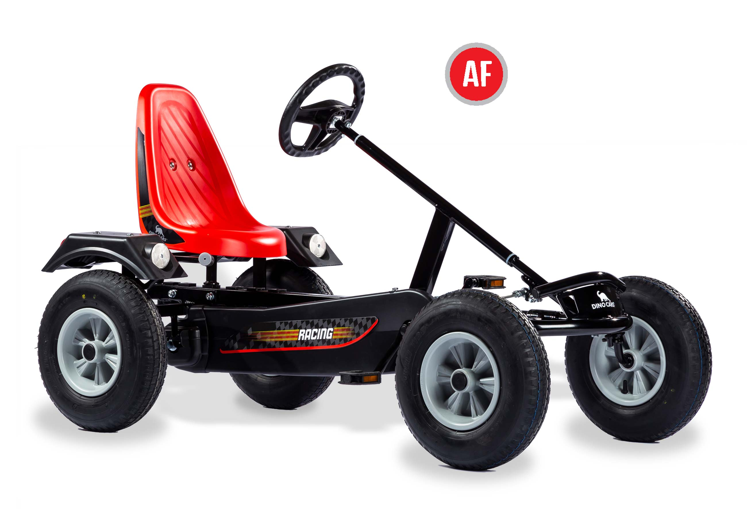 Gokart / Pedal-Gokart Classics Sport BF1 schwarz DINO CARS Bild 1