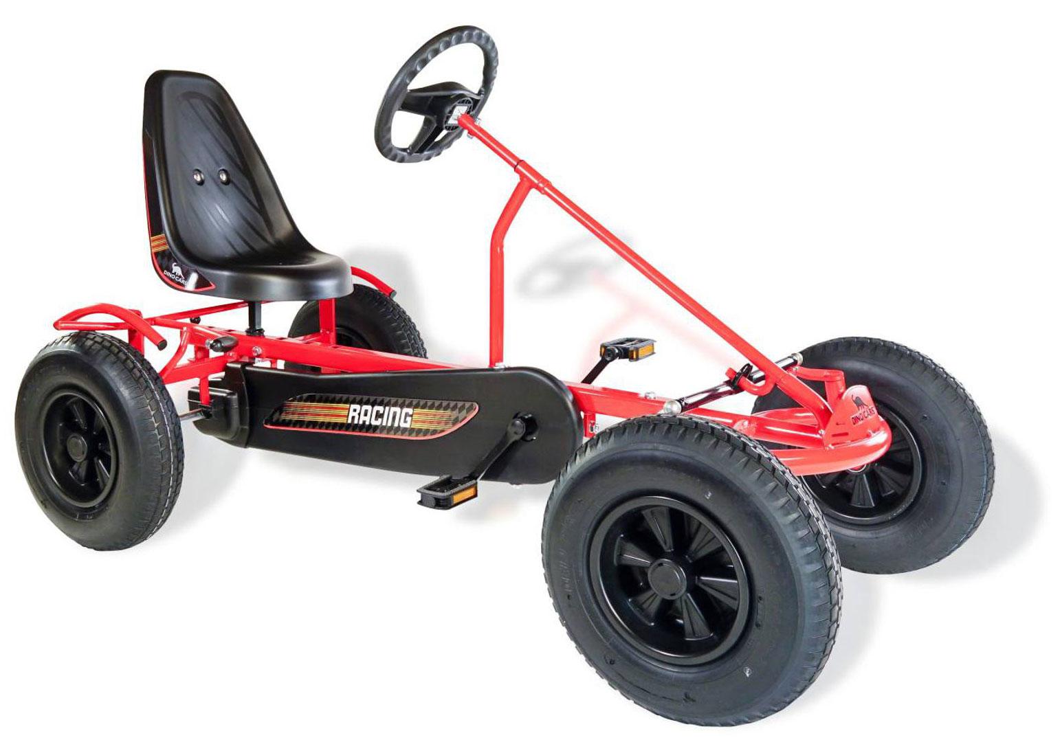 Gokart / Pedal-Gokart Classics Sprint AF rot DINO CARS Bild 1