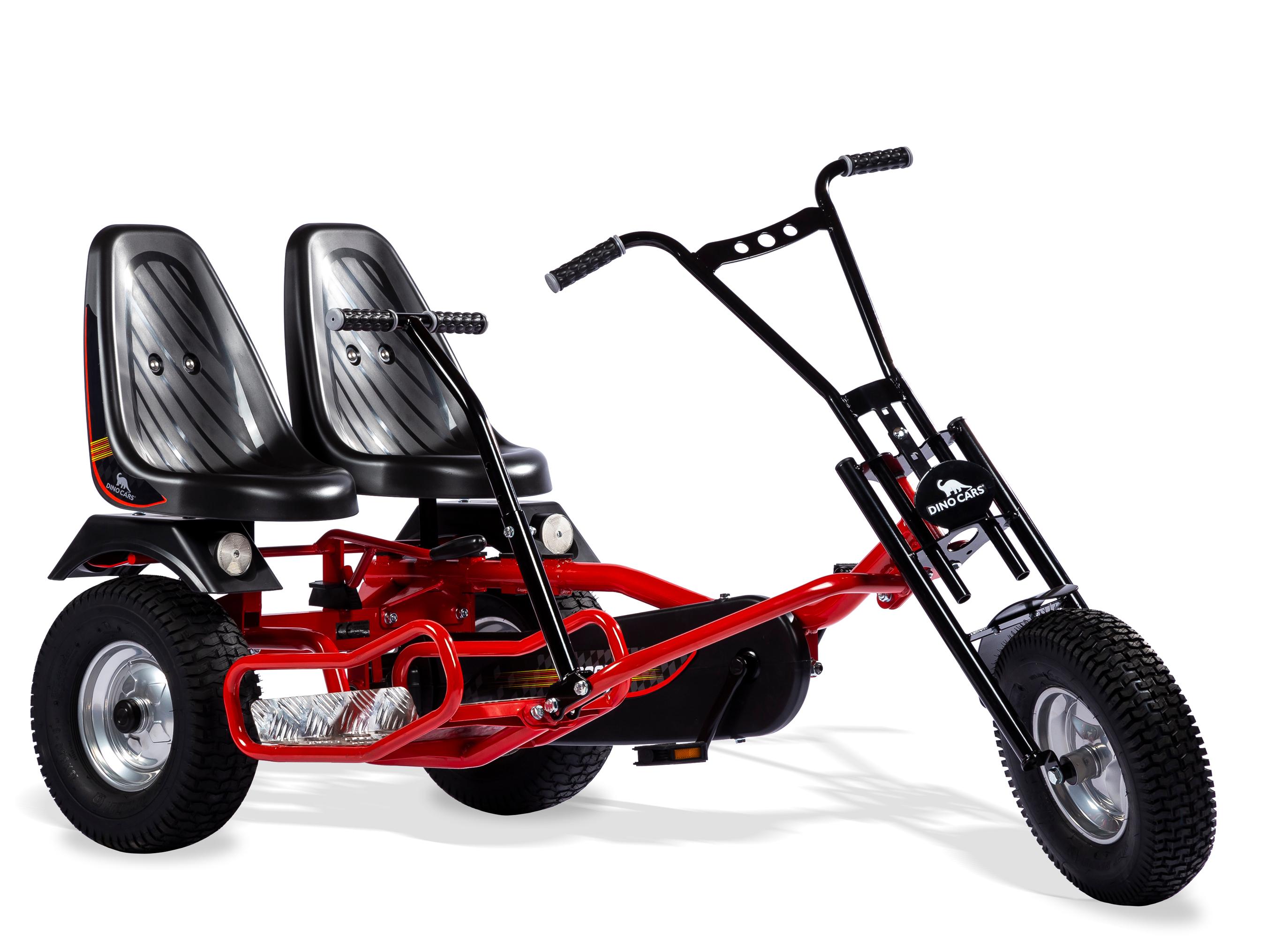 Gokart / Pedal-Gokart ProLine 2 Rider F DINO CARS Bild 1