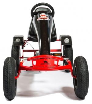Gokart / Pedal-Gokart RaceLine Super Sport BF3 rot DINO CARS Bild 2