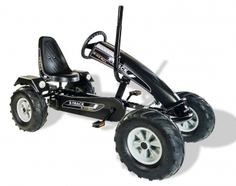 Gokart / Pedal-Gokart Track BF1 Black Bull schwarz DINO CARS Bild 1