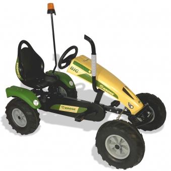 Gokart / Pedal-Gokart Track BF1 Krone BIG mit Rundumleuchte DINO CARS Bild 1