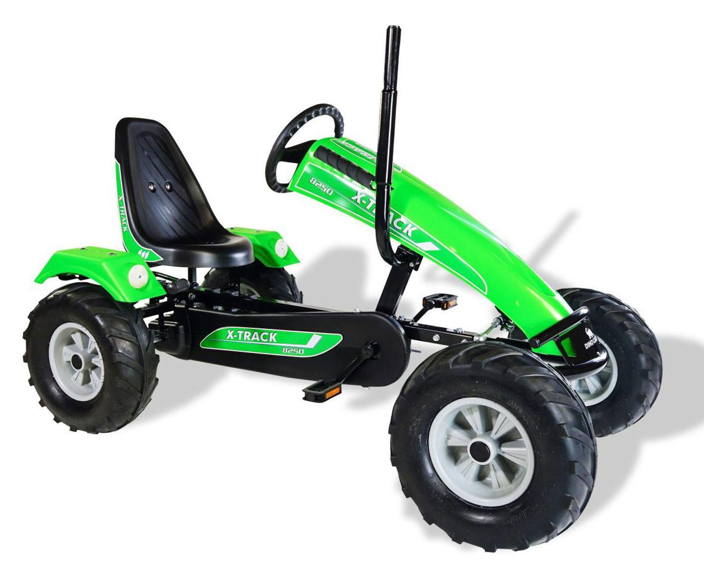 Gokart / Pedal-Gokart Track BF1 grün DINO CARS Bild 1