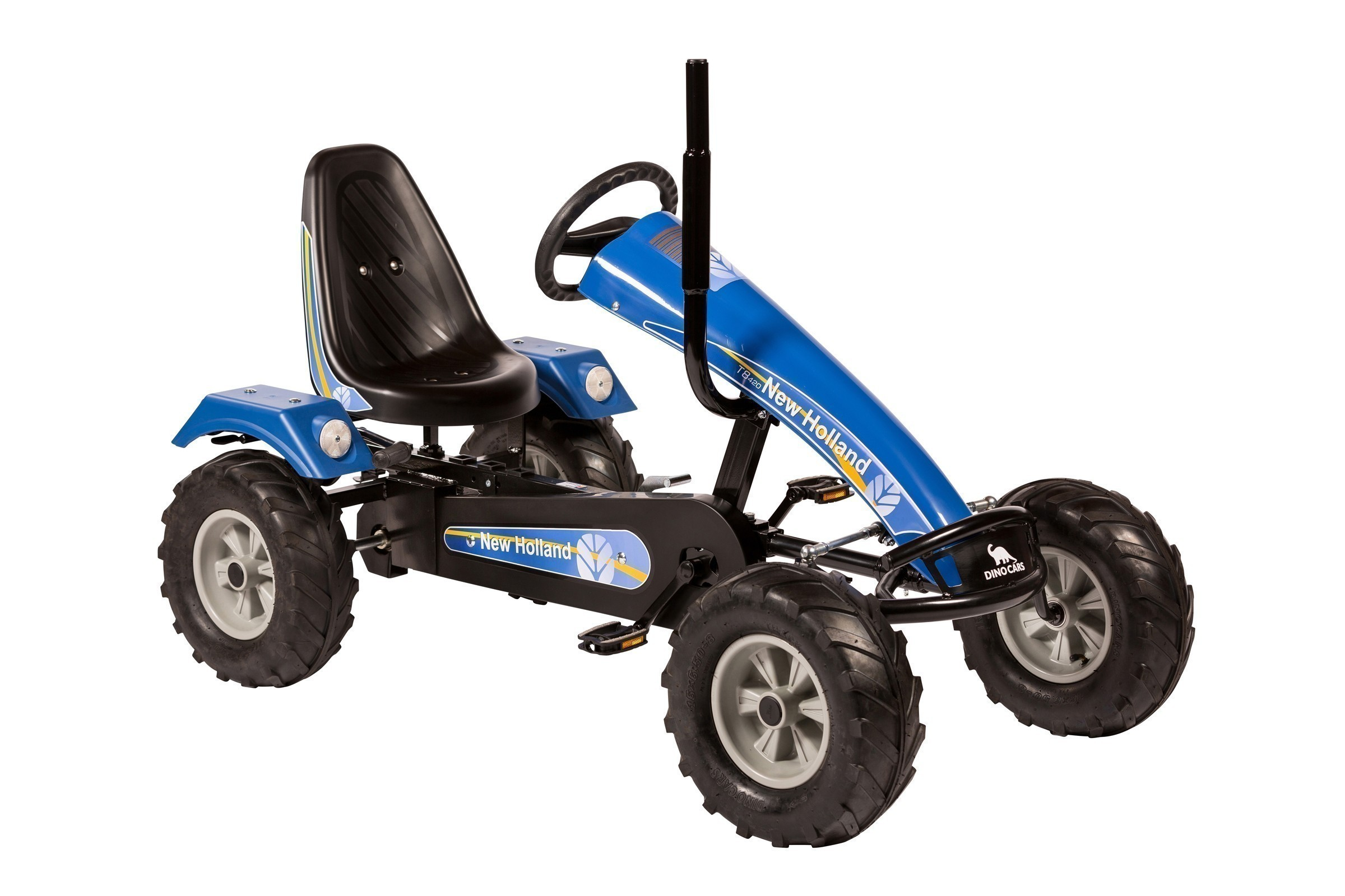 Gokart / Pedal-Gokart Track BF3 New Holland blau DINO CARS Bild 1