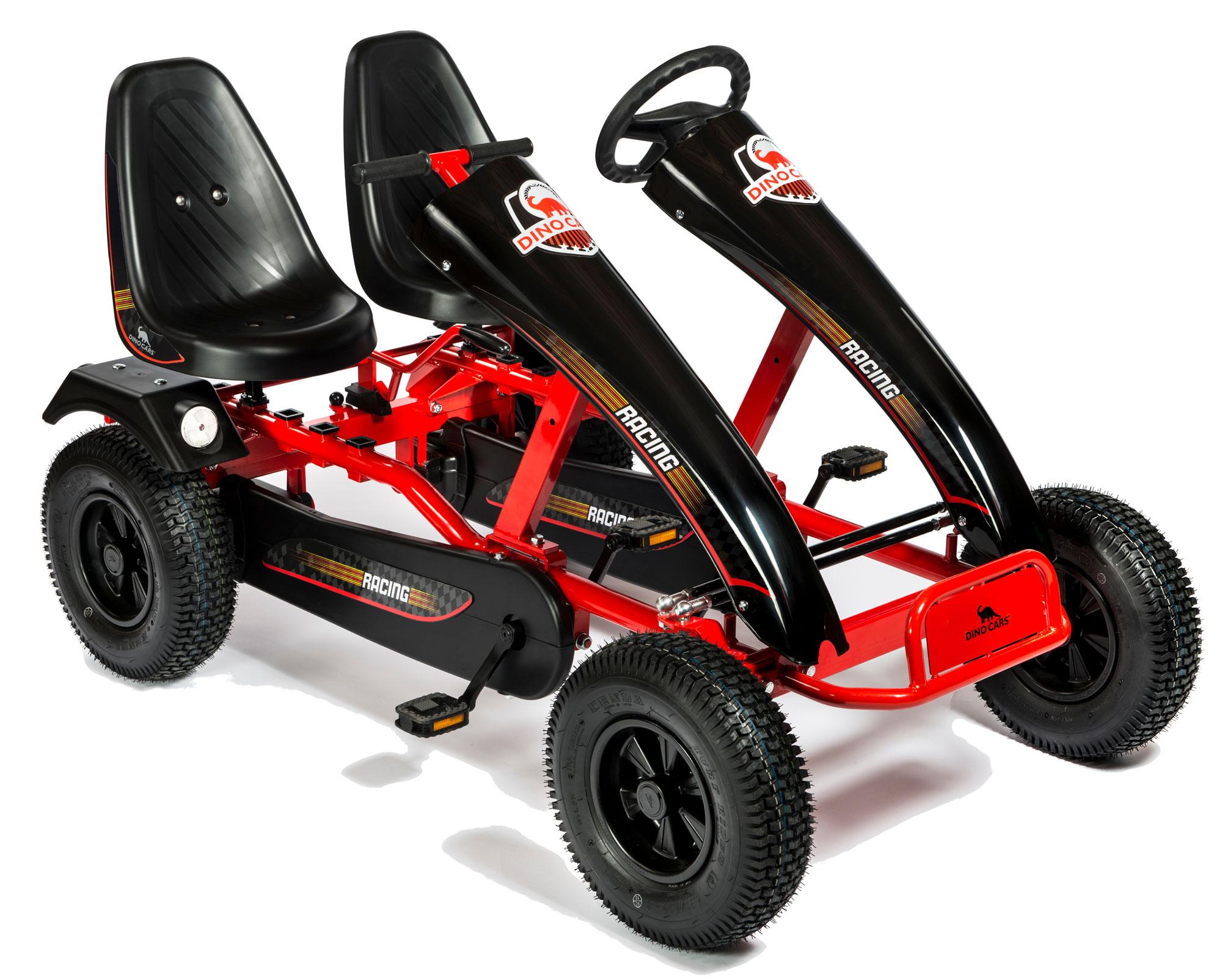 Gokart / Pedal-Gokart Twin F rot DINO CARS Bild 1